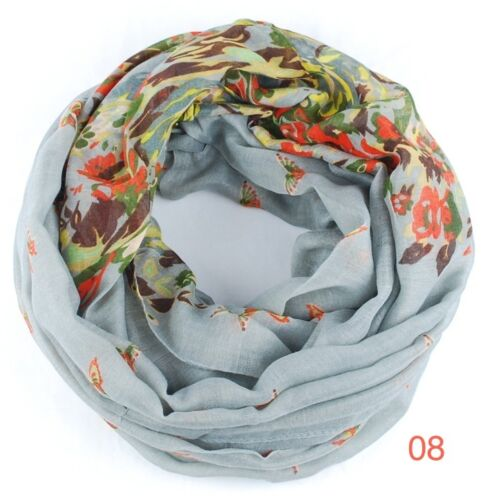 XXL Sciarpa Loop Scialle Foulard Crinkle TUBO Scialle Panno Loopschal