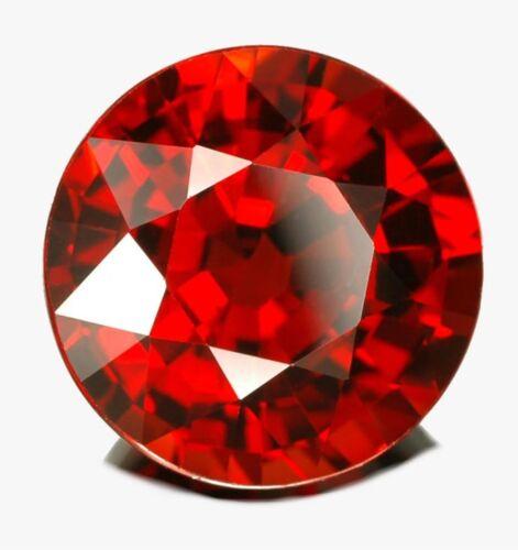 3mm ROUND NATURAL RED MOZAMBIQUE GARNET GEM GEMSTONE