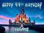 """Disney Castle Inspiré 6/""""//Feuille A3 personnalisée comestible glaçage cake topper"""