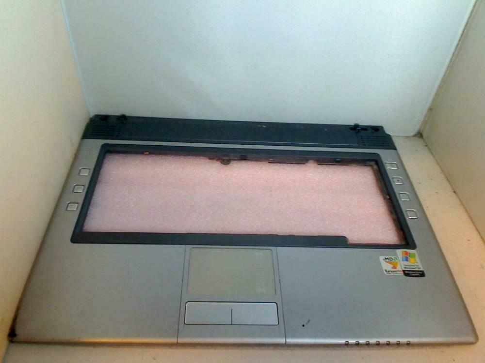 Housing Upper Cover PALMREST with TOUCHPAD Clevo Hyrican M66JE