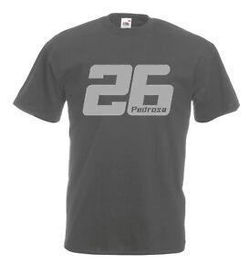 Dani-Pedrosa-26-t-shirt-Matt-Silver-logo-Graphite-Black-Navy