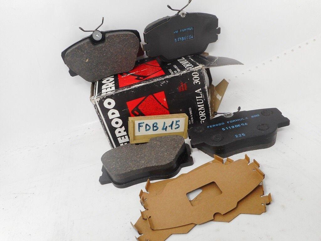 PINZA Freno Set Pastiglie Freni Posteriore incl 2 x warnkontakt MERCEDES VIANO VITO w639