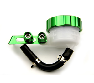 bocal-Liquide-de-frein-embrayage-vert-Reservoir-Maitre-Cylindre-MOTO-UNIVERSEL
