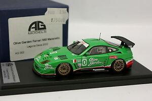AG-Models-1-43-Ferrari-550-Maranello-Olive-Garden-Laguna-Seca-2002