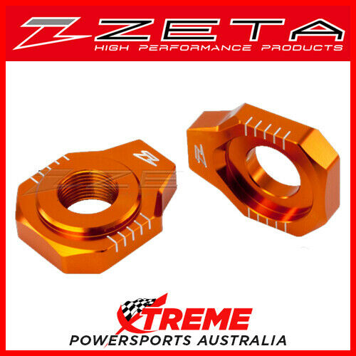Orange Rear Axle Block KTM 85SX 2003-2014, Zeta ZE93-5427