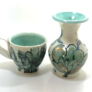 MsBH-Pottery-Mug-And-Vase-Beautiful-Vintage-Pieces