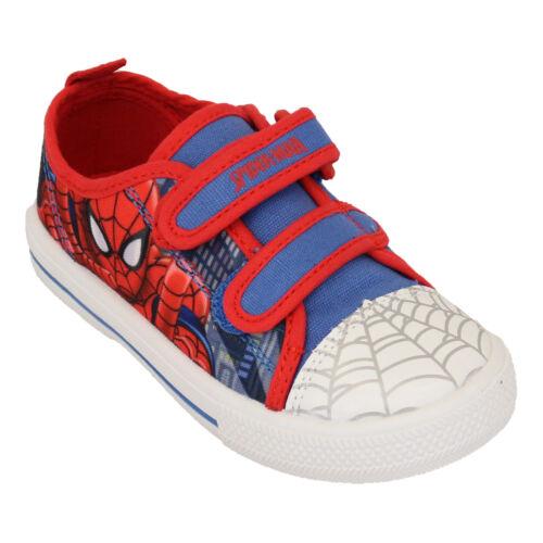 Boys Avengers Spiderman Star Wars Trooper Trainers Kids Paw Patrol Marvel Pumps