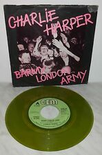 "7"" 45 GIRI CHARLIE HARPER - BARMY LONDON ARMY - GREEN"