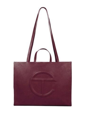 Telfar Large Oxblood Shopping Bag - New *IN HAND*
