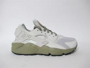 sports shoes 19b9b cd13f Image is loading Nike-Air-Huarache-Light-Bone-Olive-Sz-9-