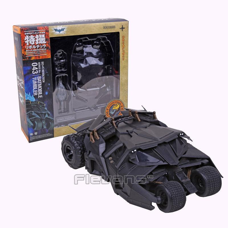 DC UNIVERSE - BATMAN - - - SCI-FI REVOLTECH SERIES BATMOBILE TUMBLER 14cm c24aaa