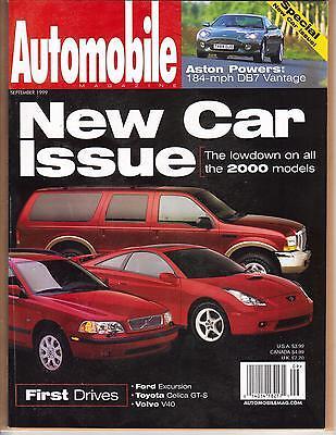 AUTOMOBILE MAGAZINE SEPTEMBER 1999