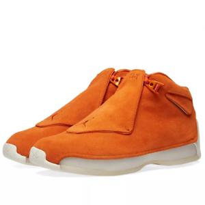 2018 Nike Air Jordan 18 XVIII Retro Campfire orange Size 15. AA2494-801