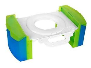 Cool-Gear-Travel-Potty-Training-Toilet-Seat-w-Carry-Handle-Damaged-Box