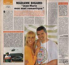 Coupure de presse Clipping 1993 Claudia & Jean Marie Bigard  (1 page 1/2)