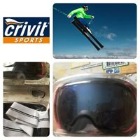 Crivit Sport,ski And Snowboarding Goggles 100% Uv Protection,class 1,filter S3