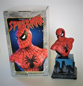 The-Amazing-Spider-Man-Mini-Bust-Statue-by-Bowen-Designs-w-Original-Box