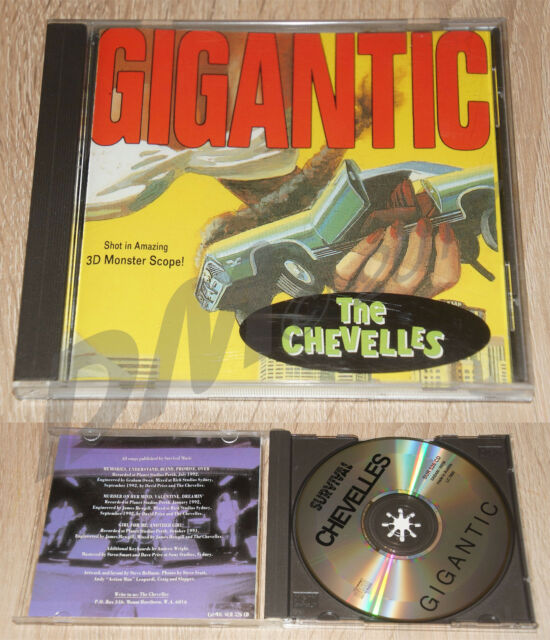 THE CHEVELLES Gigantic CD Aussie Power POP Survival526 Stems Diehards Kryptonics