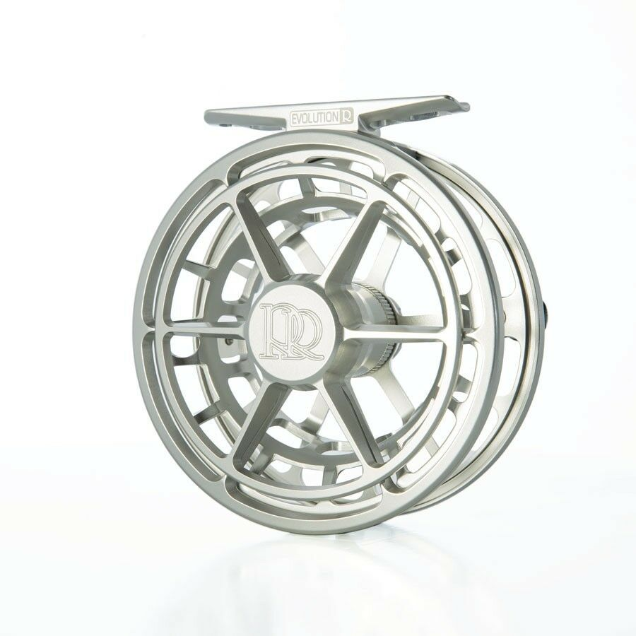 NEW - ROSS EVOLUTION R 4/5 FLY REEL IN  PLATINUM FOR 4-5 WT - FREE  IN 100 FLY LINE dffce9