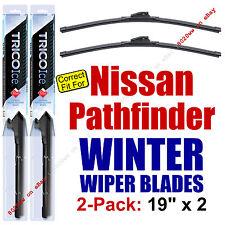 WINTER Wiper Blades 2-Pack Premium - fit 1987-1995 Nissan Pathfinder - 35190x2