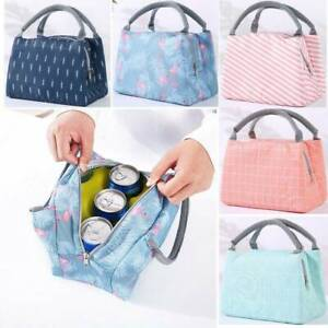 Insulated Thermal Lunch Box Bag Outdoor Camping Picnic Carry Tote Storage Bag JT