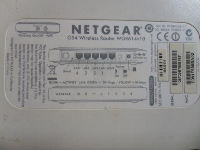 NETGEAR N150 WIRELESS ROUTER WGR614V10 WINDOWS 8.1 DRIVER