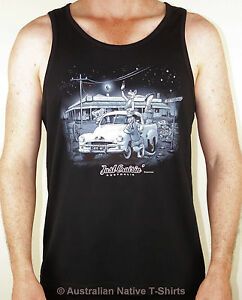 Just-Cruisin-Mens-Singlet-Holden-Ute-Aussie-Design-S-M-L-XL-amp-XXL-NEW