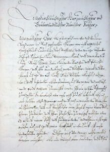 HERZOG-JULIUS-HEINRICH-SACHSEN-LAUENBURG-BRIEF-AN-KAISER-FERDINAND-III-UM-1660