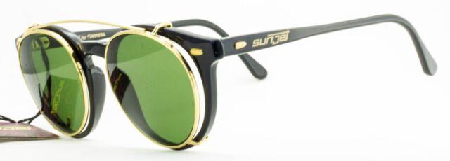 SUNJET BY CARRERA 5256 90 CP Clip On Lens Vintage Sunglasses/Optical NOS France