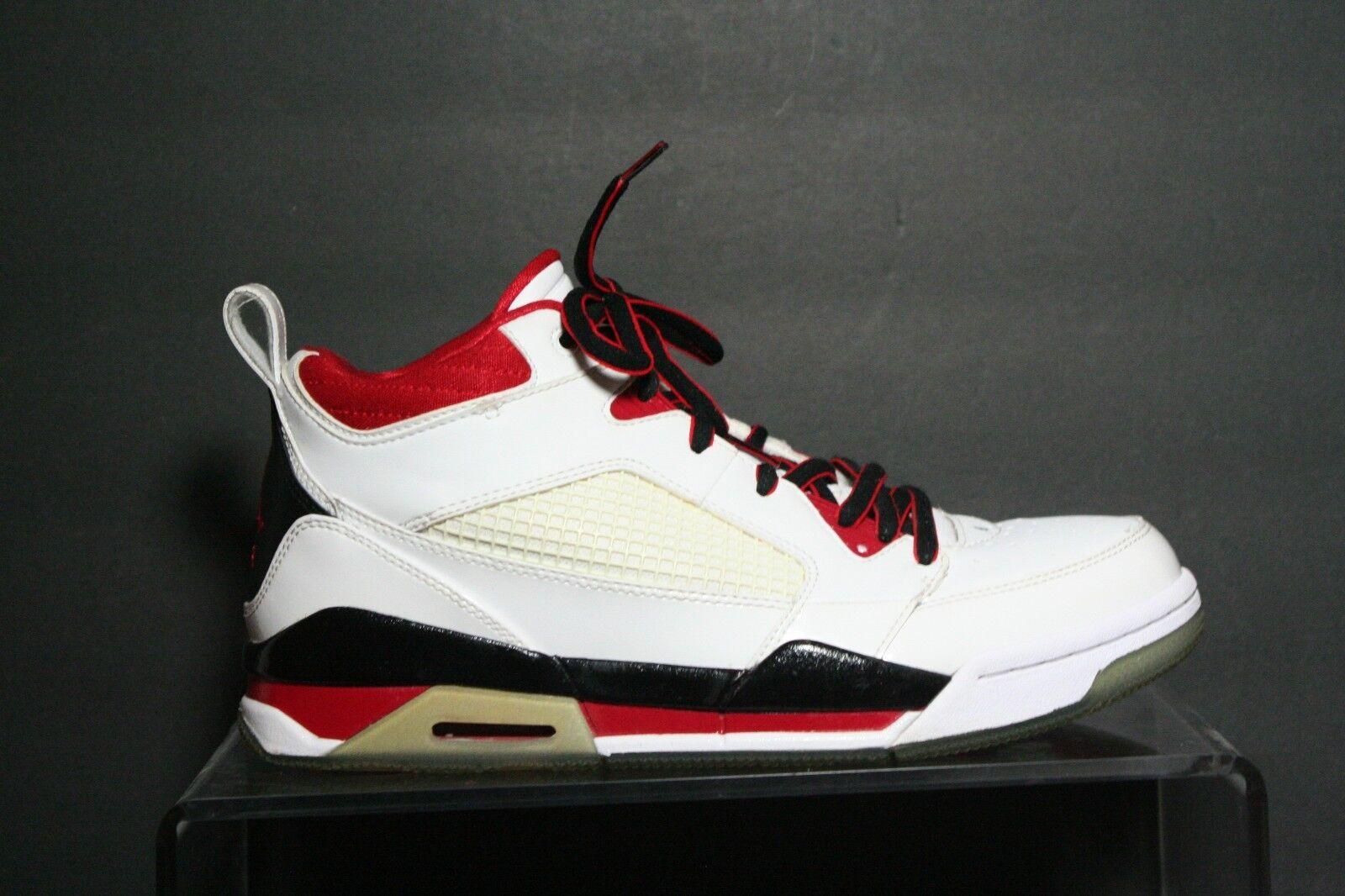 Nike Air Jordan Flight 9 Retro VTG 2009 Men 8 Multi Bred Athletic Basketball EUC
