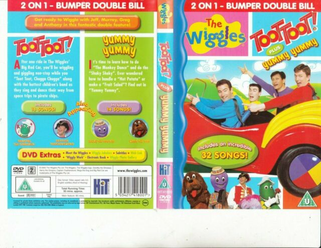 The Wiggles-Toot Toot plus Yummy Yummy-2005-[32 Songs]-Children TW-DVD