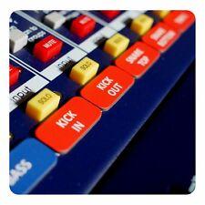 Magnetische Etiketten für Allen & Heath ZED-420 / ZED-428 / ZED-436 Mixer