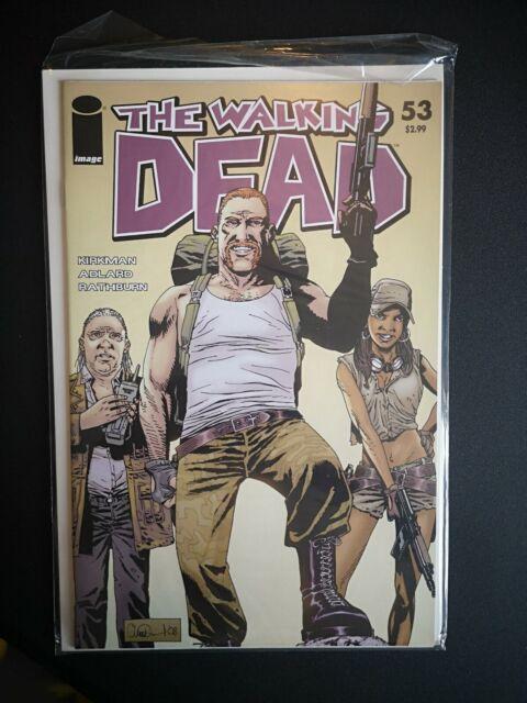 Walking Dead #53 Abraham First App. First Print TWD
