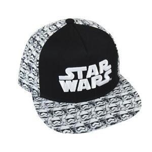 Baseball Cap Kappe 3D Disney Star Wars Neu 58 Cm Mütze Hut Kopfbedeckung Schwarz