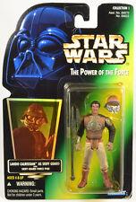 Star Wars Lando Calrissian Skiff Guard POTF2 Green Holo Card  Figure PROTECH