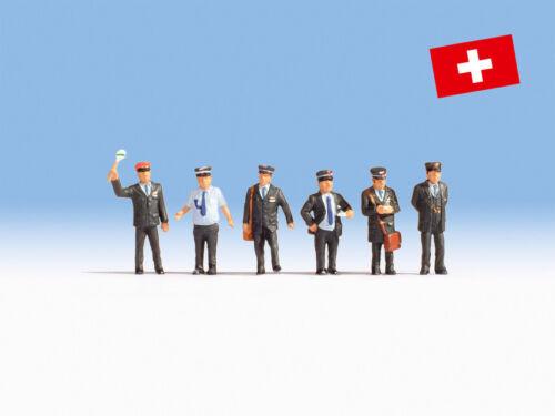 personaggi funzionari ferroviario Svizzera #neu in OVP # Ancora 15266 traccia h0