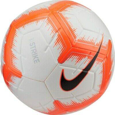 Soccer Ball Nike Strike 5 White Orange Size 5 Football Fussball Ebay