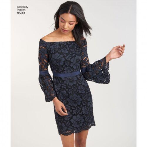 Simplicity Sewing Pattern 8599 Simplicity-8599-M FP Free UK P/&P