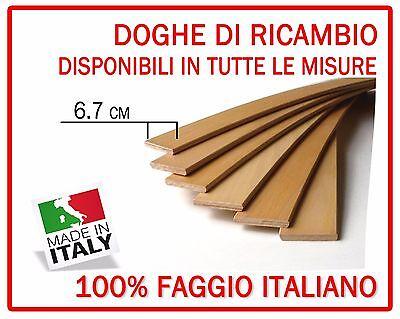 Arredamento Kit 6 Doghe Di Ricambio Per Reti Letto In Legno Tutte Le Misure-larghezza 6.7 Cm Refreshing And Enriching The Saliva Reti
