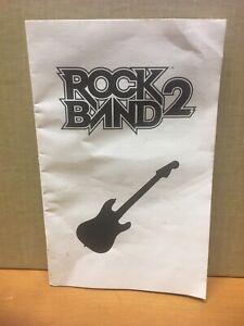 XBOX 360 Rock Band 2 Wireless Guitar Instruction Manual ...