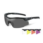 Wiley X RE105 Platnium Grade Sunglasses 5 Lens Kit Black Frame