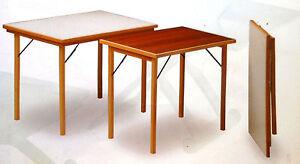 Tavolo Pieghevole Bianco : Tavolo pieghevole in legno colore bianco ebay