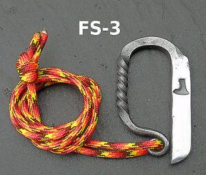 FS 5 Olivemead FORGE Bushcraft Fire Steel//Flint Fire Striker//Survie//Camping