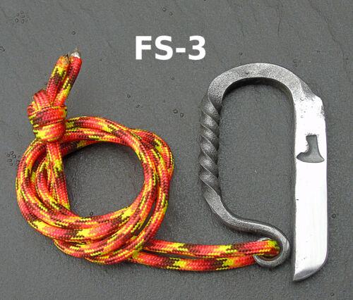 FS3 OLIVEMEAD FORGE Bushcraft Fire Steel Flint Fire striker