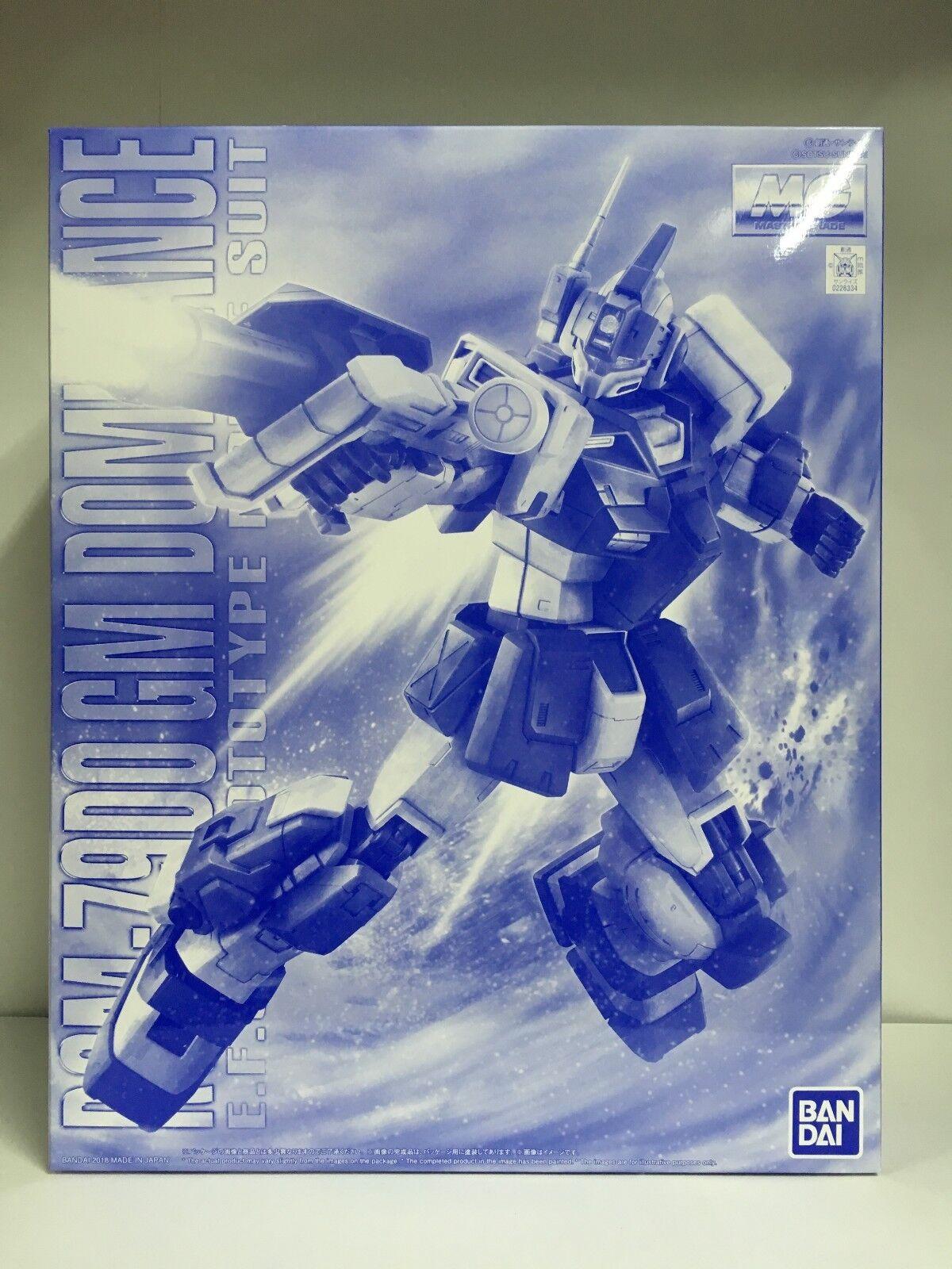 Premium Premium Premium Bandai MG 1 100 RGM-79DO GM Dominance EFSF MS Gundam The bluee Destiny JP 878b44