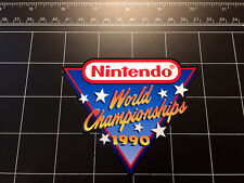 Nintendo World Championships 1990 NES retro video game color decal / sticker