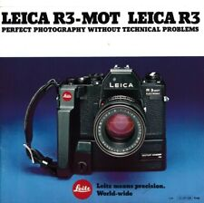 Genuine Vintage Leica Leitz Sales Brochure for bellows II in English 1961