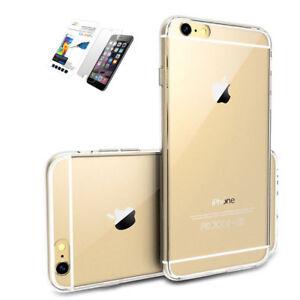 Funda-Carcasa-iPhone-6-6S-7-8-PLUS-Transparente-TPU-Protector-Cristal-templado