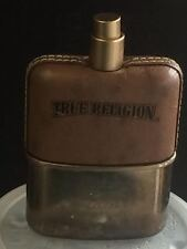 TRUE RELIGION FOR MEN - 3.4 OZ/100 ML EDT SPRAY - NO BOX - NO CAP - ROUGH BOTTLE