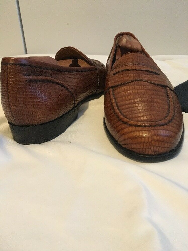 Cole Cole Cole Haan Lizard Penny Loafer Mens 88b2ca